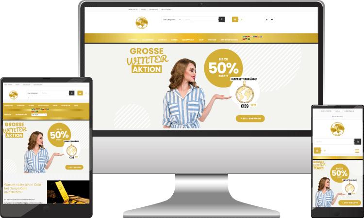 Gold Online Shop, dunya-gold.at