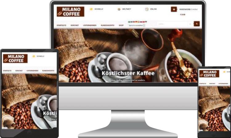 Kaffee Grosshandel Onlineshop, dunya-milano-coffee.at