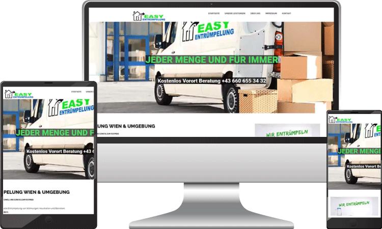 Entrümpelung Webseite, Webseite-erstellen-wordpress-wien-webdesign, easy-entruempelung.at