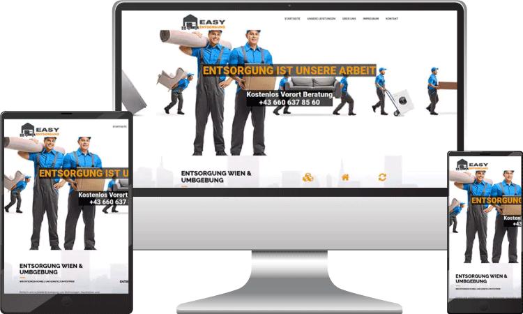 Entsorgung Webseite, easy-entsorgung.at
