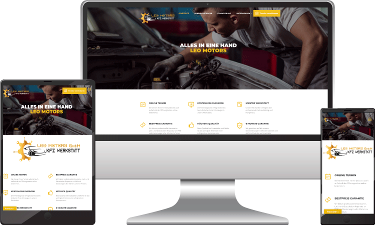 Autohandel Onlineshop, leomotors.at