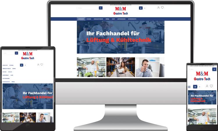 Gastornomiebedarf Online Shop, mm-gastrotech.at