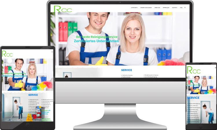 Reinigung Webseite, r-cc.at