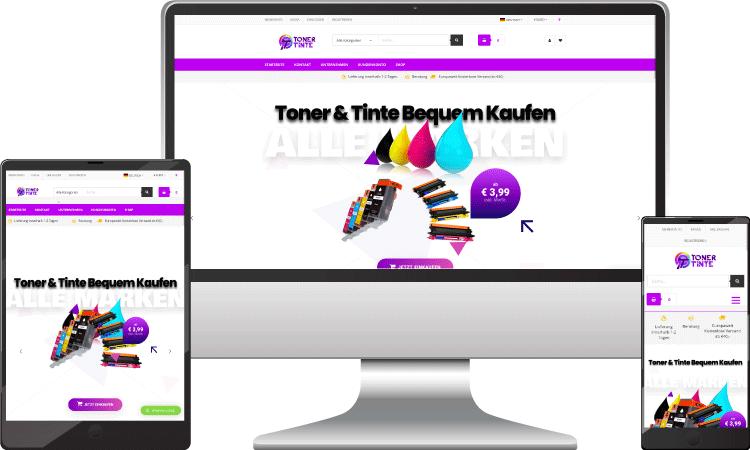 Tinte Online Shop, toner-tinte.at