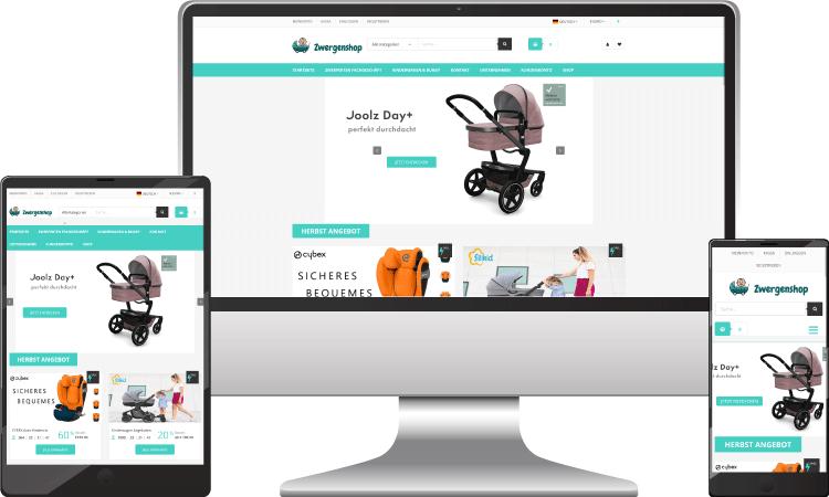 Kinderwagen Online Shop, zwergenshop.at